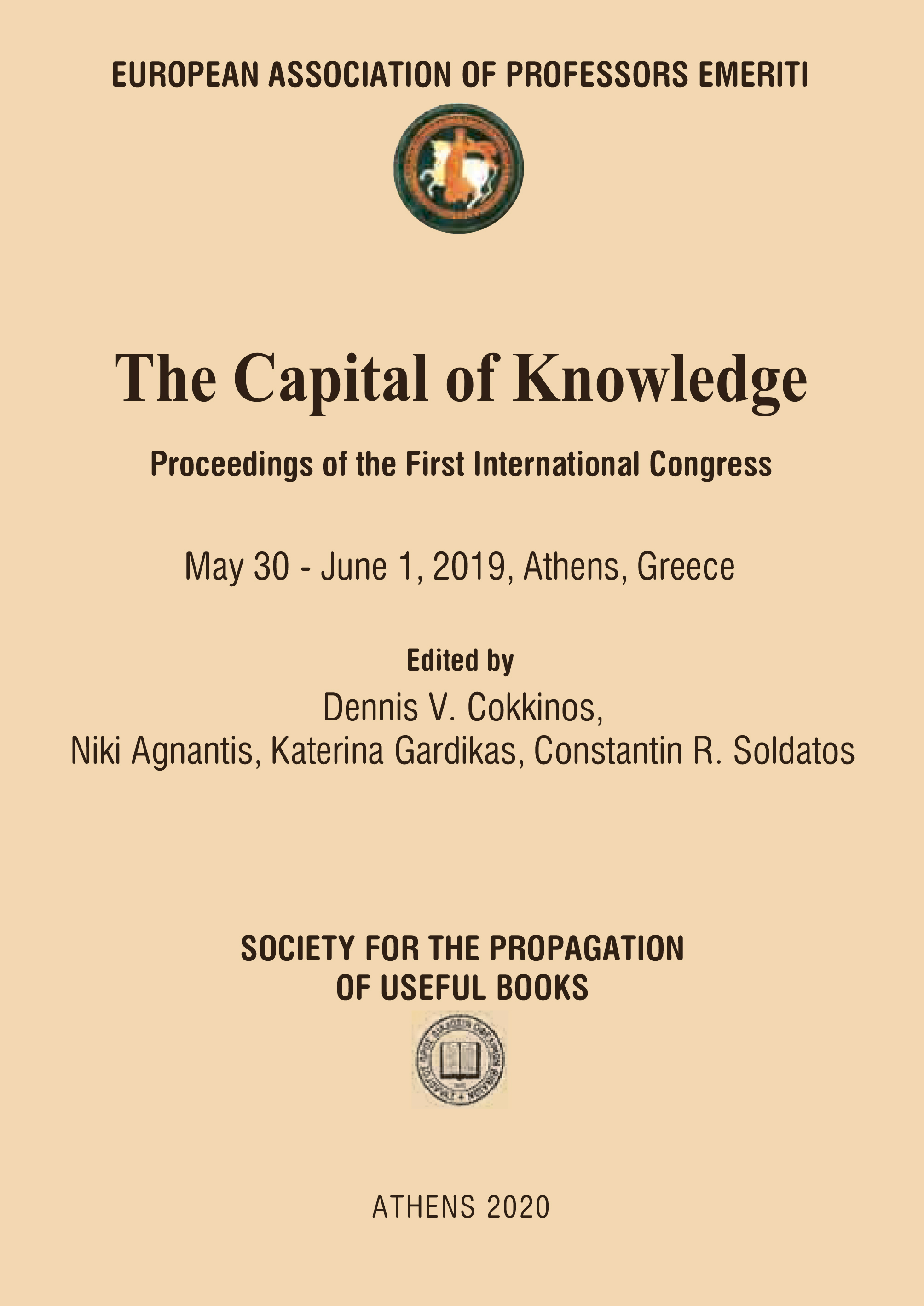 The Capital of Knowledge Cover